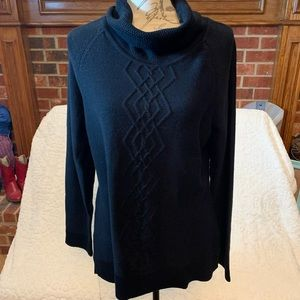 Karen Scott Black Sweater